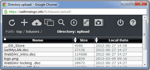 Web File Manager