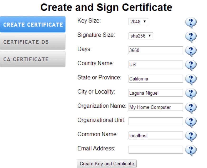 How to act as a Certificate Authority (the Easy Way)